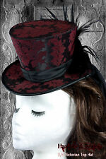 Gothic Steampunk Neo Victorian Millinery Top Hat Making Sewing Pattern 3/4 size.