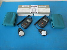 LOT OF 2 Circuit Specialists MS6610 Digital Luxmeter With Case