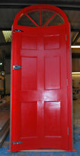 Bow Front Door with arched frame, made to measure!!! Bespoke joinery!!!