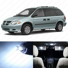 18 x Xenon White LED Interior Light Package For 2001 - 2007 Dodge Caravan