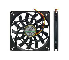 Pq705 Scythe Kaze jyu Slim 100mm 2000rpm case/hdd Ventilador 3 & 4 Pin de 92 mm de montaje