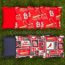 Cornhole Bean Bags Set of 8 ACA Regulation Bags St Louis Cardinals Free Shipping