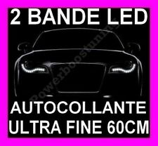 BANDE A LED SMD SOUPLE BLANCHE PHARE FEUX JOUR DIURNE FEU BLANC XENON TUNING 12V