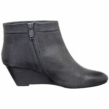 NEW Ash Italia women's Kristy Iron leather ankle wedge boots size 38 M $265