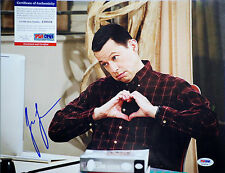 PSA/DNA SIGNED 11X14 PHOTO JON CRYER (TWO AND A HALF MEN) PE195
