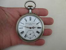 Large rare vintage pocket watch BRAUSWETTER JANOS SZEGEDEN (DOXA)-67mm-HUNGARY