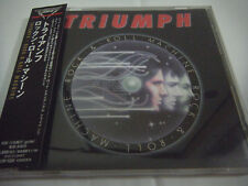 TRIUMPH-Rock & Roll Machine JAPAN 1st.Press w/OBI Rush AC/DC Kiss Iron Maiden
