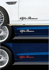 For ALFA ROMEO - 2 x DOOR - VINYL CAR DECAL STICKER ADHESIVE - 300mm long