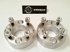 "StreetRays 2"" Thick 4x4"" Wheel Spacers EZ Go Golf Carts Club Cars 1/2""x20 (PAIR)"
