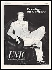 Publicité UNIC chaussures pour homme  fashion shoes for men vintage ad 1936 - 4i