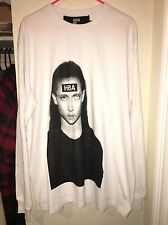 100% AUTHENTIC AND BRAND NEW HBA HOOD BY AIR MORPH LONG TEE SIZE XL