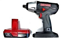 *NEW* CRAFTSMAN C3 19.2v VOLT 1/2 INCH IMPACT WRENCH GUN + LITHIUM BATTERY
