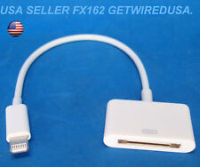 usa seller. 8-PIN TO 30-PIN ADAPTER LIGHTING CHARGING SYNC CABLE iPHONE