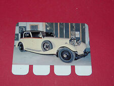 N°78 HISPANO-SUIZA 1934 PLAQUE METAL COOP 1964 AUTOMOBILE A TRAVERS AGES