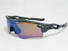 Oakley Radar Lock Polarized Prizm Carbon Shield Wrap Sunglasses