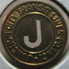 1945 Junction City, KS Transit Lines Co. Inc. Bus Token - Kansas