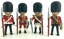 playmobil 4577 royal guards X4 figures rare lot custom toys play bid Sealed New