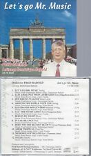 CD--ORCHESTER FRED RABOLD--LET'S GO MR MUSIC