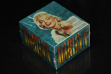 MARILYN MONROE DIAMOND COLLECTIBLE COLLECTION VERY RARE CARDS DISPLAY BOY