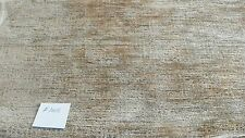 Gold Green Stria Chenille Upholstery Fabric Remnant  F1002