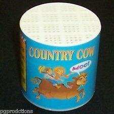 Deluxe COW VOICE MOO CAN Sound Clown Gag Joke Toy Noise Maker Prank Box Cry