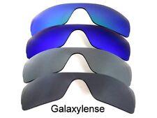 Galaxie verres de rechange pour Oakley Batwolf noir & gris & bleu & vert 4PAIRS