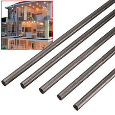 5Pcs 2mm Diameter x 500mm Carbon Fiber Bar Rods Tool For RC Airplane Matte Pole