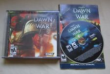 Warhammer 40,000 Dawn of War  + Dark Crusade Lot of 2 PC Games
