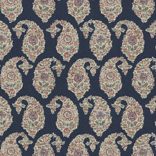 Ralph Lauren Navy Upholstery Fabric- Boudin Paisley/Provence (LCF65498F) 7 avail