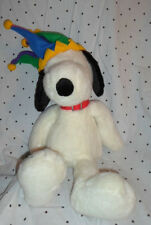 "Macy's United Features Peanuts Jester Snoopy 26"" Plush Soft Toy Stuffed Animal"