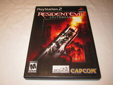 Resident Evil: OutBreak (Playstation PS2) Black Label Game Complete Nr Mint!