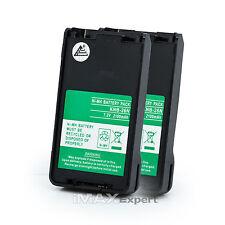 2 x 2100mAh KNB-25A KNB-26N Battery for KENWOOD TK-2170 TK-3170 TK-2173 TK-3173