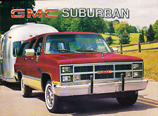 1984 GMC Suburban Original Sales Brochure Catalog