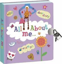 Secret Diary For Girls Kids With Lock And Key Dreams Thoughts Journal Notebook