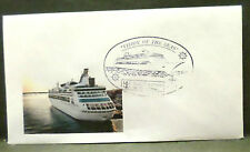 ms Vision Of The Seas . Royal Caribbean Cruise Line Posted On Board Cover Ship