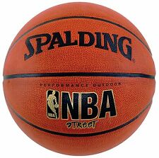 "Spalding NBA Street Basketball, Official Size 7 29.5"", New, Free Shipping"