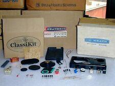 Unbuilt Classikit Small 6 Transistor AM Radio Unassembled+ Eico Heathkit Survey