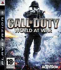 Call of Duty World at War PS3 playstation 3 jeux jeu game games spelletje 219
