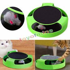 Mouvement Kitten Cat Toy Catch Le système de formation Cat Interactive Souris