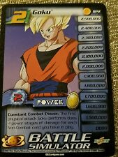 Dragonball Z Card Goku 2 #BP2  Battle Simulator Score 2002 DBZ
