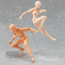 Japan Art Figure Doll Figma archetype he and she Flesh Color Version Limited