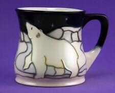 MOORCROFT NORTHERN LIGHTS POLAR BEAR MUG, SHAPE MU1, ABSOLUTE BEST QUALITY