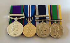 GSM, Golden Jubilee, Royal Navy LSGC, Cadet Force ACF, Full Size Mounted Medals