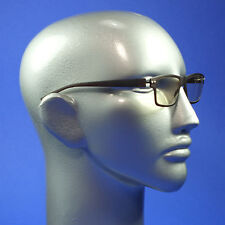 Screen Glasses Computer TV Anti Fatigue No Glare Clear Lenses Matte Brown Frame