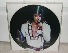 Elvis Presley~The Legend Of A King~1980 Radio Show Picture Disc LP NM