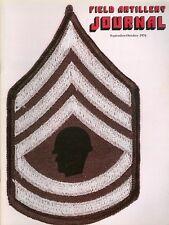 1976 Field Artillery Journal Magazine: Addition of a Second E7 to Firing Battery