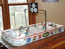 Vintage 1961 Eagle Toys NHL Power Play Coleco Tin Table Top Hockey Game