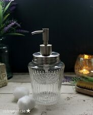 VINTAGE Kilner Mason Jar Soap Dispenser con coperchio in acciaio inox e pompa