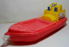 GREEK VTG APERGIS 70's PLASTIC 24'' TITANIC BOAT SHIP WATER TOY FLOATS MIP RARE
