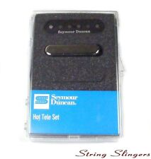 Seymour Duncan STL-2 Hot Tele Pickup Set for Telecaster Black/Chrome 11208-11